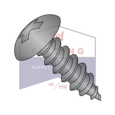 #6-18x1/2  Phillips Full Contour Truss Self Tapping Screw Type A Fully Threaded Black Oxide