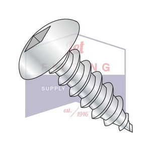 8-15X1/2  Square Truss Self Tapping Screw Type A Fully Threaded Zinc and Bake