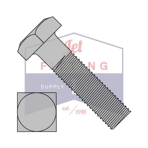3/4-10X2 1/2  Square Machine Bolt Steel Plain