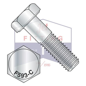3/4-10X3 1/4  Hex Cap Screw Stainless Steel 18-8