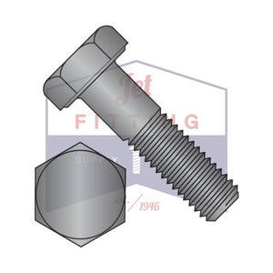 5/16-18x2-1/4  Hex Cap Screw Steel Grade-2 Black Oxide and Oil (Pack: 100)