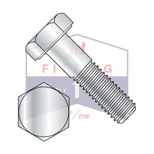 7/8-9X3 3/4  Hex Cap Screw Steel Grade 2 Zinc