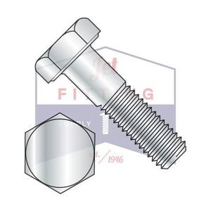 7/8-9X8  Hex Cap Screw Steel Grade 2 Zinc