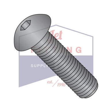 Button Socket Hex Cap Screw 8-32X1/4 Alloy Steel
