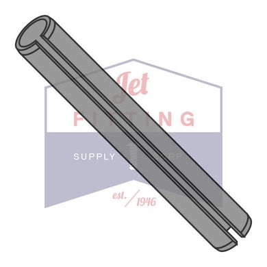 M3X24mm  Metric Roll Pin Slotted Carbon Steel Thermal Black Oxide ISO 8752 -- Package