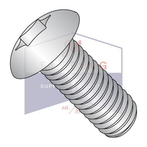 10-32X3/4  6 Lobe Truss Full Contour Machine Screw Fully Threaded 18 8 Stainless Steel