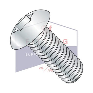 10-32X5/8  6 Lobe Truss Machine Screw Fully Threaded Zinc
