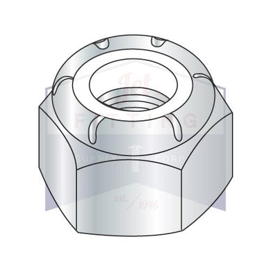7/8-14  NE  Nylon Insert Hex Lock Nut Zinc