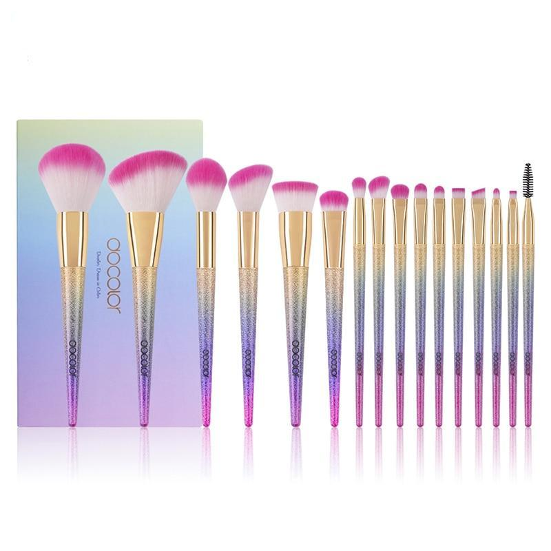 Set de 16 pinceaux MERMAID