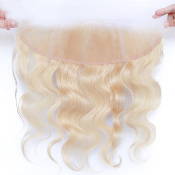 Closure Brésilien BODY WAVE BLOND VANILLA 13*4