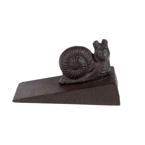 Cast Iron Snail Door Stop - the-southern-magnolia-too