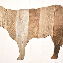 Load image into Gallery viewer, Kentucky Barn Wood Cow Wall Hanging - the-southern-magnolia-too