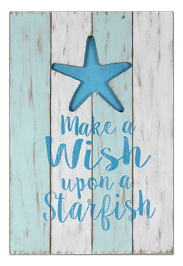Make A Wish Upon A Starfish Sign - the-southern-magnolia-too