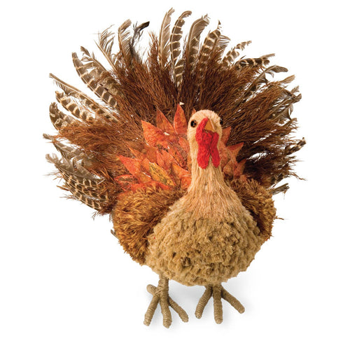 Natural Harvest - Large Grass & Feather Turkey - the-southern-magnolia-too