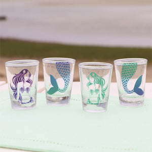 Stacking Mermaid Shotglass Set of 4 - the-southern-magnolia-too