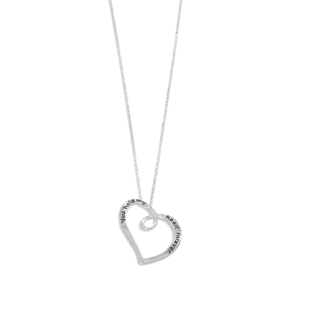 You Hold My Heart Forever Necklace - the-southern-magnolia-too
