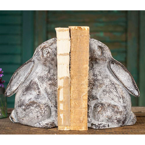 Bunny Bookends - the-southern-magnolia-too