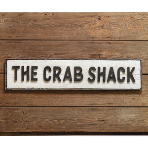 Crab Shack Wood Wall Sign - the-southern-magnolia-too