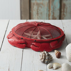 Red Metal Crab Tray***Available in March*** - the-southern-magnolia-too