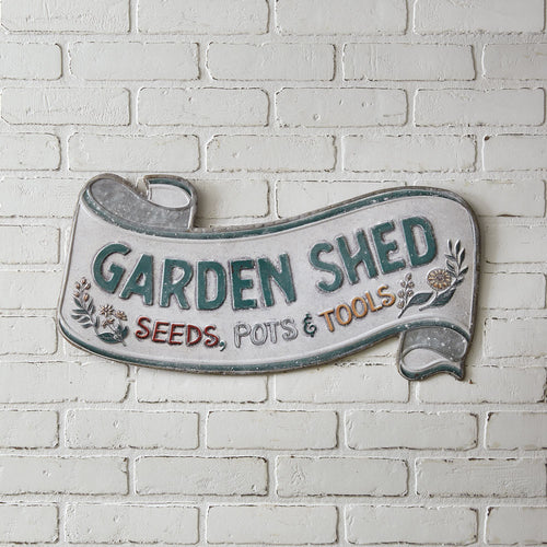 Garden Shed Scroll Wall Sign***Arriving in March*** - the-southern-magnolia-too