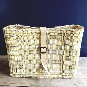 Hand Woven Bike Basket - the-southern-magnolia-too