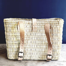 Load image into Gallery viewer, Hand Woven Bike Basket - the-southern-magnolia-too