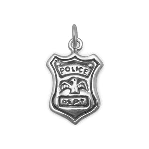 Police Shield Charm - the-southern-magnolia-too