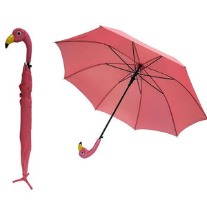 Flamingo Stick Umbrella - the-southern-magnolia-too