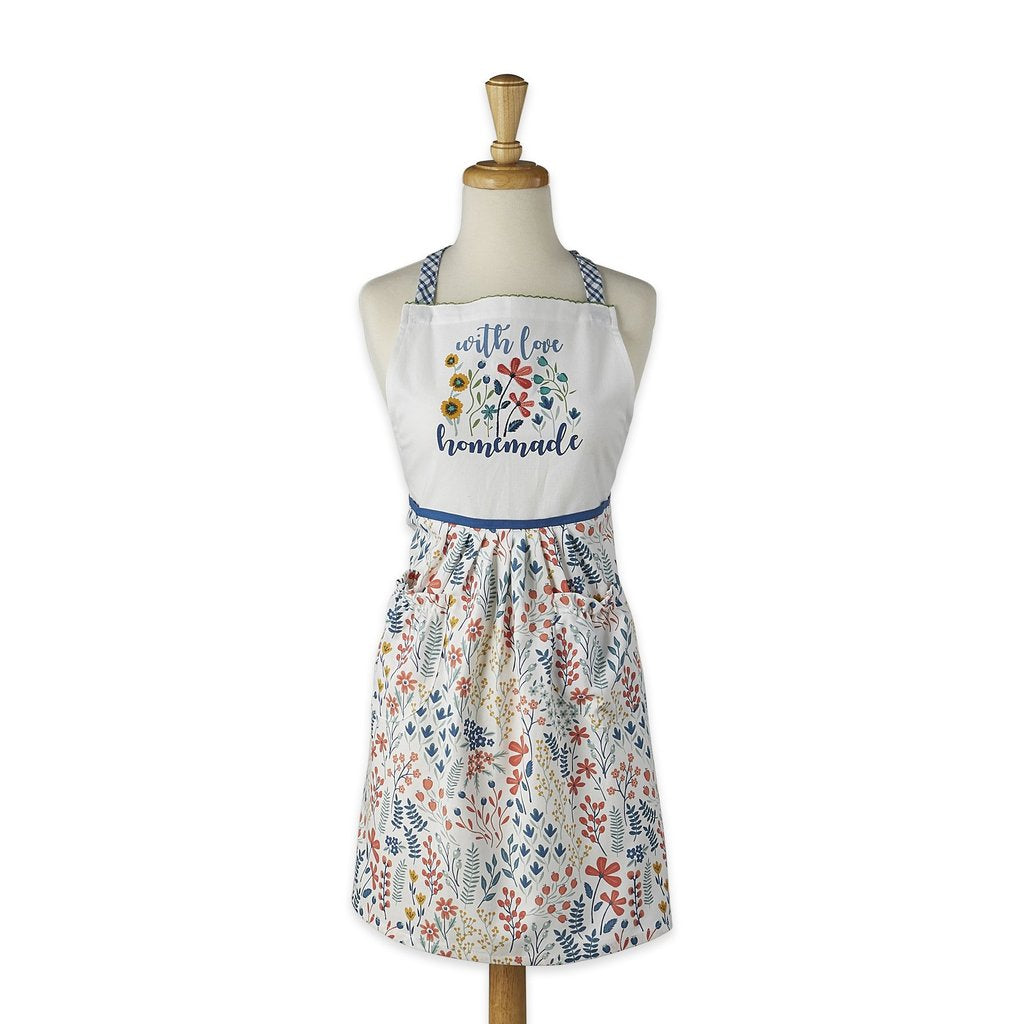 Homemade with Love Printed Apron - the-southern-magnolia-too