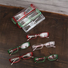 Load image into Gallery viewer, Christmas Pattern Reading Glasses - the-southern-magnolia-too
