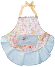Load image into Gallery viewer, Flower Party Ruffle Apron - the-southern-magnolia-too