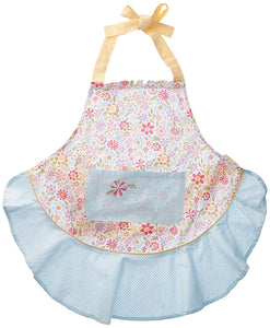 Flower Party Ruffle Apron - the-southern-magnolia-too