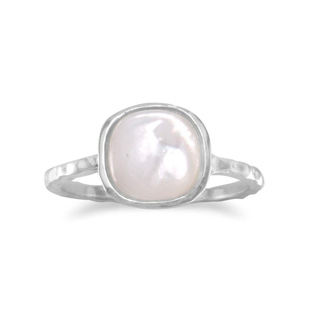 Mother of Pearl Stackable Ring - the-southern-magnolia-too