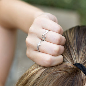 Polished Infinity Ring - the-southern-magnolia-too