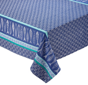 Santorini Jacquard Tablecloth - the-southern-magnolia-too
