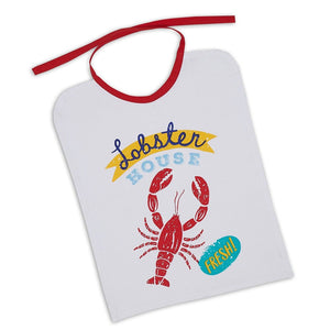 Lobster House Printed Bib - the-southern-magnolia-too