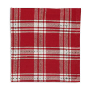 Sprig Dobby Plaid Napkin Set - the-southern-magnolia-too
