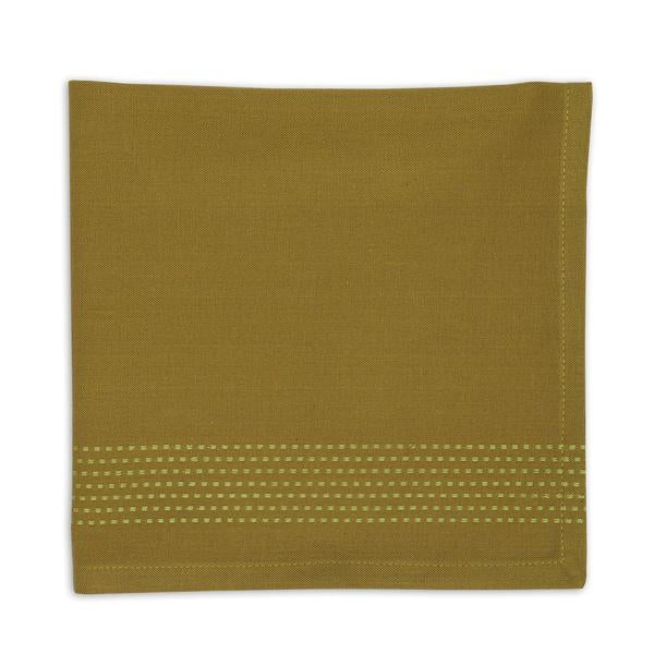 Mossy Green Stripe Napkin Set - the-southern-magnolia-too
