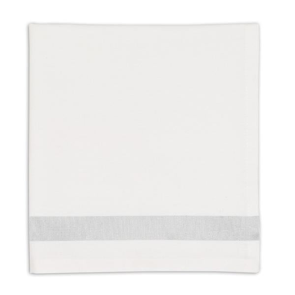 Silver Sparkle Stripe Napkin Set - the-southern-magnolia-too
