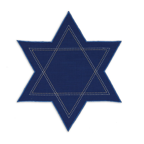 Star of David Hanukkah Placemat Set - the-southern-magnolia-too
