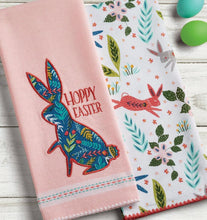 Load image into Gallery viewer, Hoppy Easter Dishtowel Set of 2 - the-southern-magnolia-too