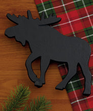 Load image into Gallery viewer, Moose Black Cast Iron Trivet - the-southern-magnolia-too