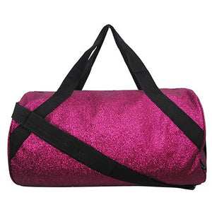 Glitz and Glam Glitter Sparkle Medium Duffle Bag - the-southern-magnolia-too