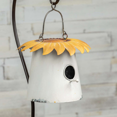Sunflower Garden Hanging Birdhouse - the-southern-magnolia-too
