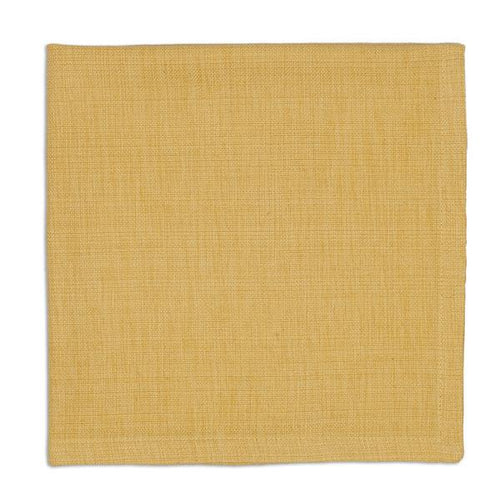 Honey Mustard Yellow Gold Tonal Napkin Set - the-southern-magnolia-too
