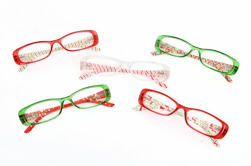 Christmas Pattern Reading Glasses - the-southern-magnolia-too