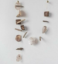 Load image into Gallery viewer, Capiz Shell Coconut Driftwood Garland - the-southern-magnolia-too