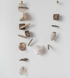 Capiz Shell Coconut Driftwood Garland - the-southern-magnolia-too
