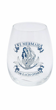 Load image into Gallery viewer, Mermaid Stemless Glass - the-southern-magnolia-too