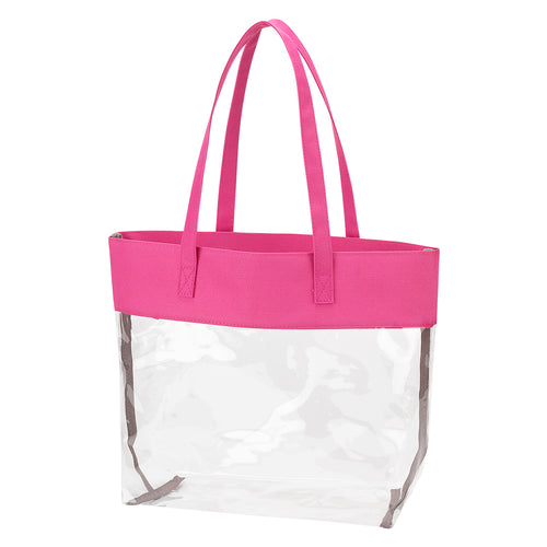 Clear Stadium Tote Bag Purse - the-southern-magnolia-too